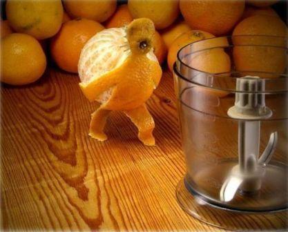 фотоприкол апельсин тащит