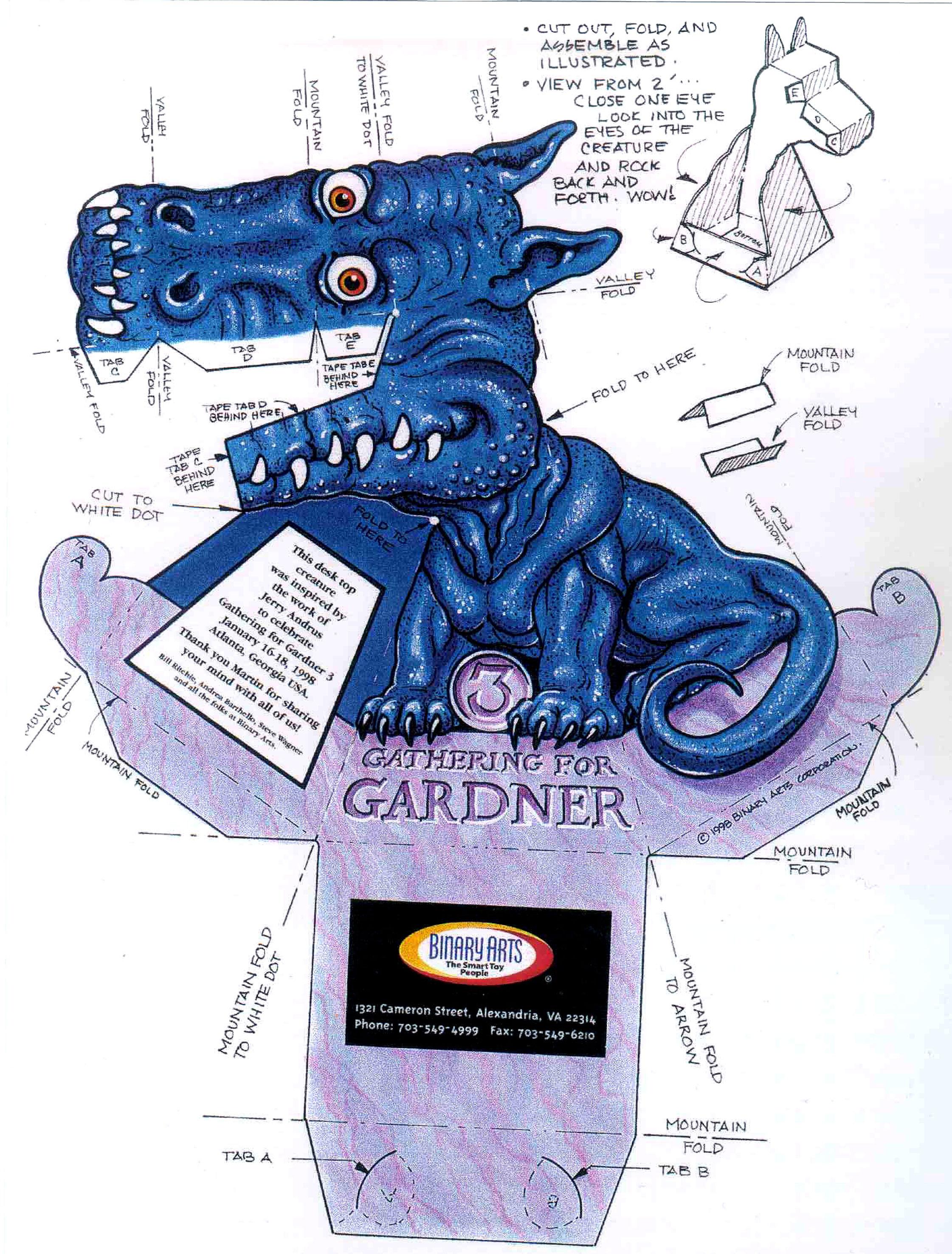 Сообщение отредактировал пользователь JuliaK - 22.11.2011, 14:12.  Дракончики из бумаги от Джерри Эндрюса с иллюзией...
