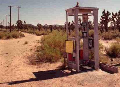 Телефонная будка Мохаве 2
