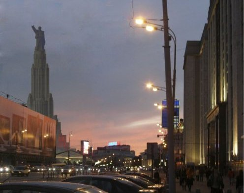 Так выглядела бы Москва (2)